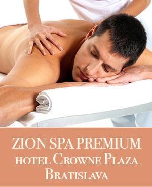 ZION SPA PREMIUM HOTEL CROWNE PLAZA BRATISLAVA