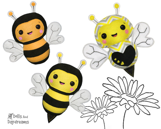 Bumble Bee-sewing-pattern