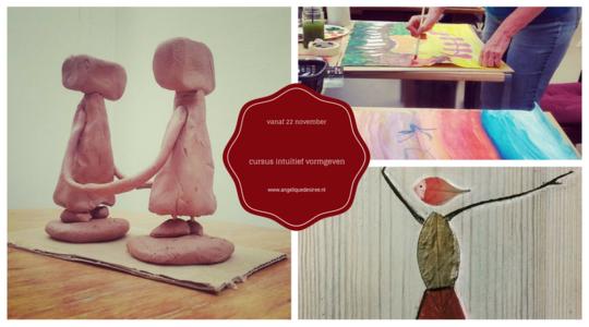 Kunstzinnige Cursus intuitief vormgeven