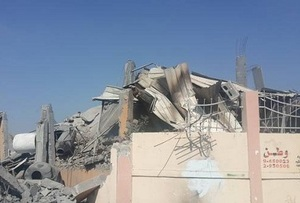درخواست کمک برای بازسازی کتابخانه های ویران شده غزه!